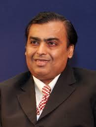 mukesh - richest person in India