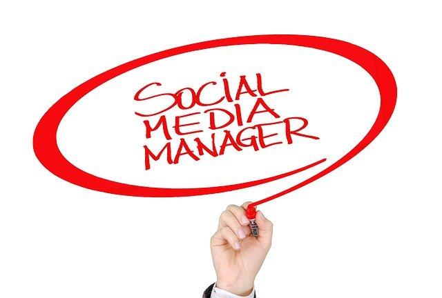Social media manager image