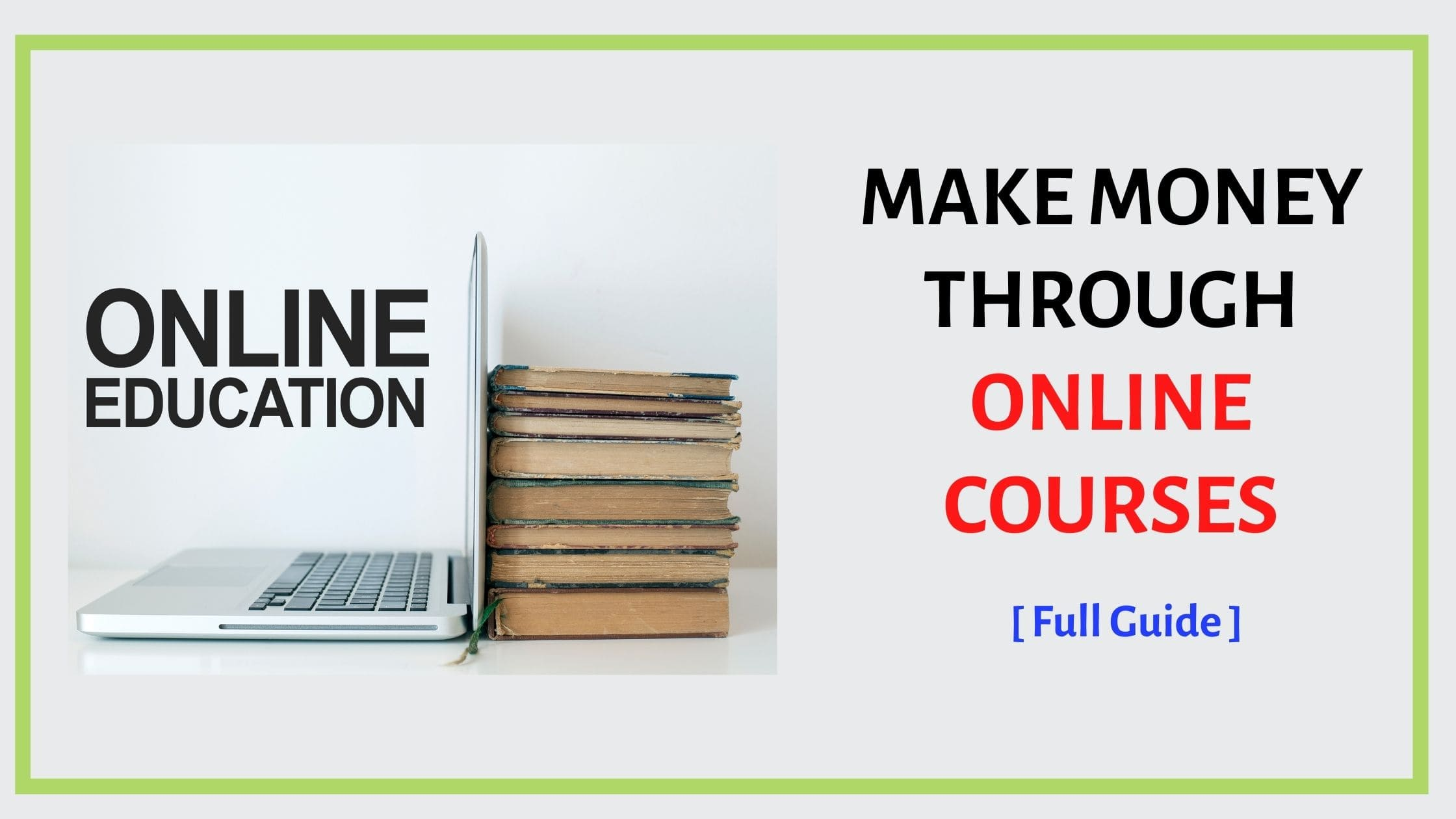 make money through online courses