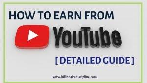 make money through youtube